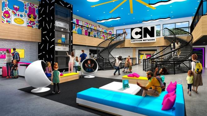hotel Cartoon Network