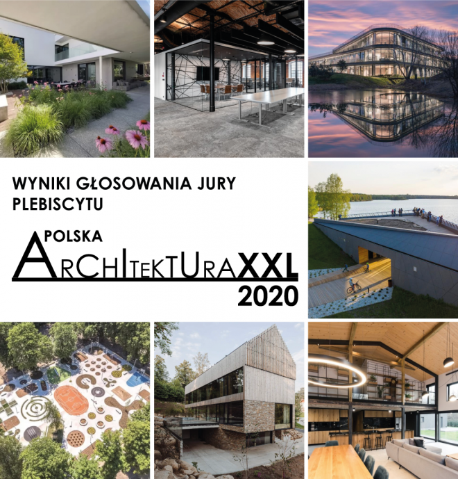 Plebiscyt Polska Architektura XXL 2020. Wyniki głosowania jury