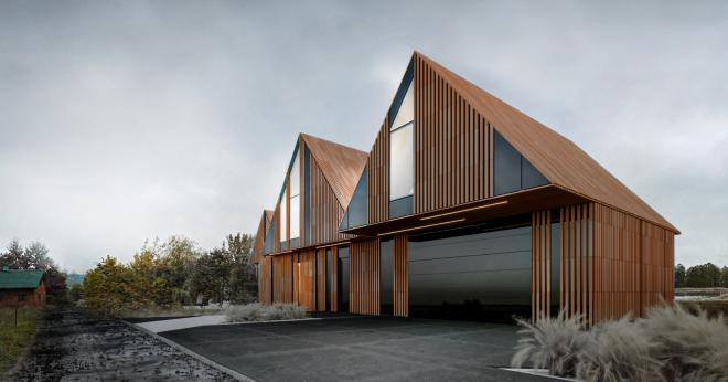 Dom RE: BRRRDA House od REFORM Architekt