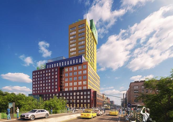 Radio Tower & Hotel, MVRDV, projekt architektoniczny