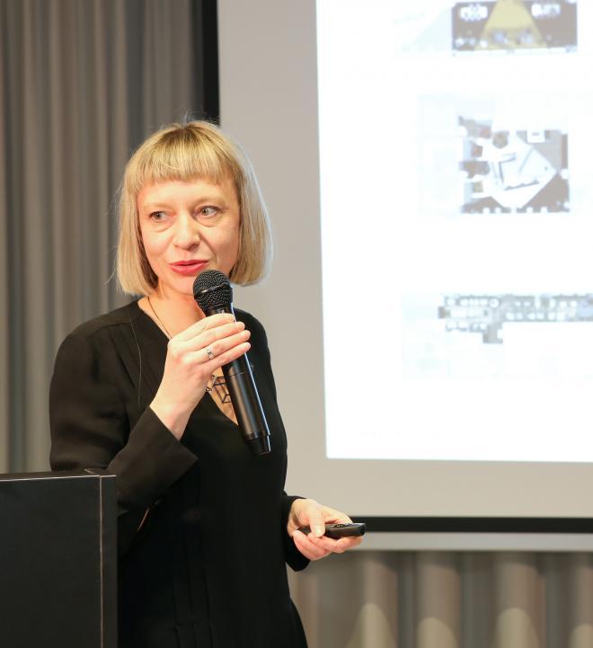 arch. Ewa Kozieł –Jurowska z pracowni JEMS Architekci, fot. Bartosz Makowski