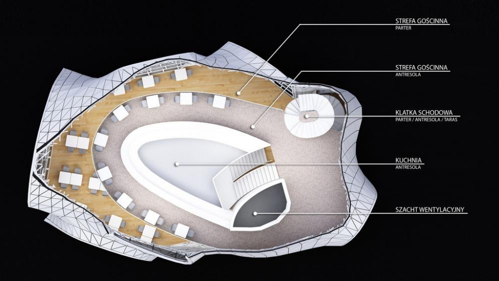 Restauracja Genesis Od Massive Design I Przemyslawa Mac Stopy
