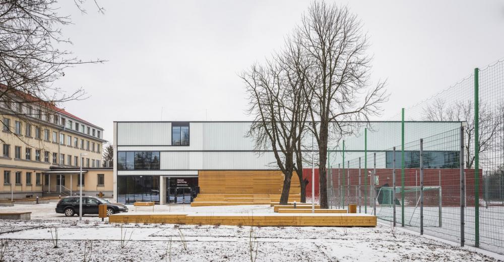 Hala Sportowa W Krakowie Zaprojektowana Przez Zespol Marcina