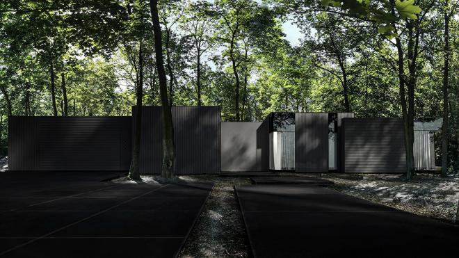 Re: Dark House,, dom jednorodzinny od REFORM Architekt