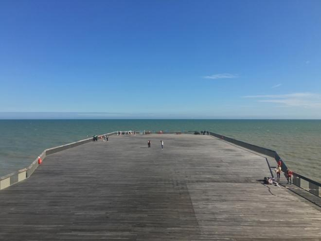 Hastings Pier, proj. dRMM Architects