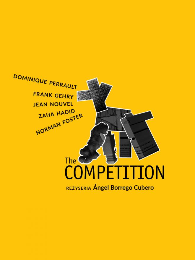 "The Competition, startARCHITEKCI""18, Frank Gehry, Jean Nouvel, Zaha Hadid, Dominique Perrault, Norman Foster"