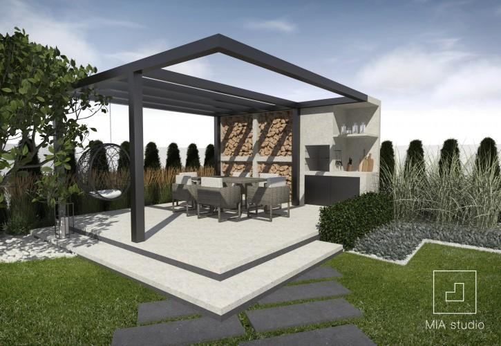 Projekt Nowoczesnej Altany Ogrodowej Sztuka Architektury