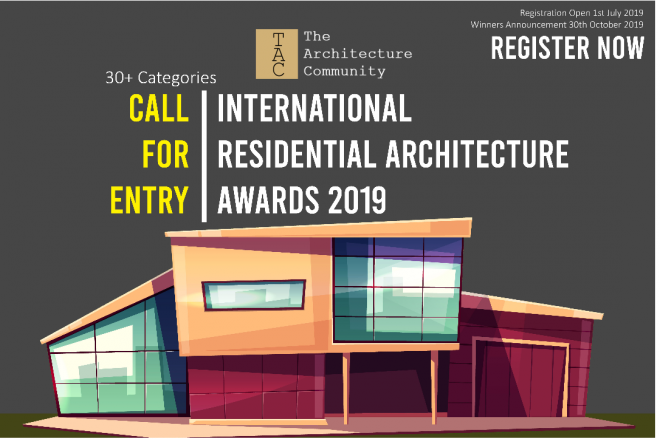 The Architecture Community, International Residential Architecture Awards 2019, konkurs dla architektów