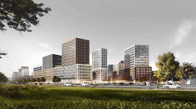Ligovsky City od pracowni KCAP i Orange Architects